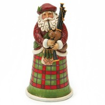 """Jim Shore Scottish Santa from Around the World Collection 6.75"""" High Christmas"""