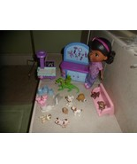 Disney Doc McStuffins Doll,Talking Check-up Table by Just Play + Xray table,Pets - $19.68