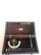 Vintage K&E Keuffel Esser Inclinometer Hand Level Surveyor Scope Case 19... - $108.89