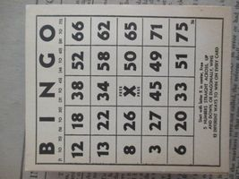 Vintage Bingo Game in Box, J. Pressman Co., New York image 7