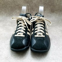 Skechers Womens  45410 Sz 7 M Black  Leather Lace Up Walking Sneakers - $27.99