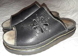 Dr Martens Women's Sandals Size EU 39 Black Leather Made in England Flor... - $22.31