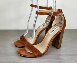 Steve Madden Carrson Sandal, Copper Suede, Womens Size 8.5 M - $33.59