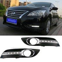 AupTech LED Daytime Running Lights Fog Cover DRL Kit for Nissan Sentra 2013 2... - $145.89
