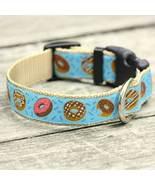 Donuts for Him Jacquard Adjustable Dog Collar / Made in Japan - $29.00