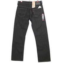 Levis 569 Mens Jeans Loose Straight Fit Black Size 29 X 32 - $49.25
