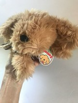 """Applause Puppy Dog Skipper Brown New Vintage Furry Stuffed Animal 11"""" - $48.32"""