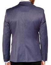Mens Slim Fit Skinny Formal Wear Dark Grey 2 Piece Tuxedo Suit image 3