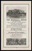 MAINE Marshall House Hotel York Harbor 1927 Photo Ad - $14.99