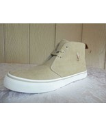 $75 Polo Ralph Lauren Men's Talin Corduroy Chukka Sneakers, Stone, US 8.... - $35.29