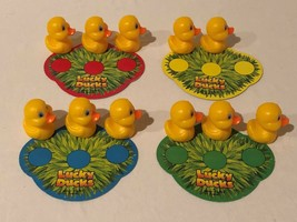 Lucky Ducks Board Game Replacement Parts Pieces Ducks Cardboard Matching Board - $4.99