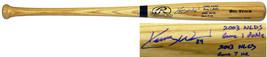 Kerry Wood Signed Rawlings Blonde Big Stick Bat w/ Insc. - $160.00