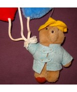 "Paddington Bear Wall Hanging Balloons Baby Nursery Plush Stuffed Animal 15"" - $24.56"