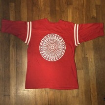 VTG 70s 80s Indiana Hoosiers College Football Single Stitch Red NCAA T Shirt M - $49.99