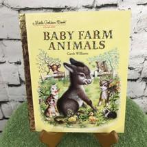 Baby Farm Animal Little Golden Book LGB - $3.22