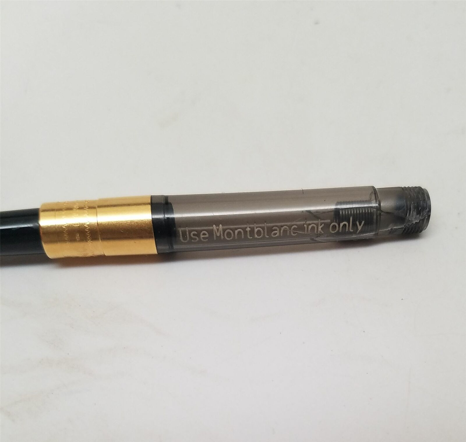"Montblanc Fountain Pen Piston Converter (105181) ""CRACKED"""