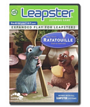 LeapFrog Leapster Learning Game Ratatouille Food Nutrition Fun Remy Emil... - $10.00