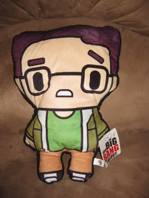 "Primary image for BIG BANG THEORY LEONARD BRAND NEW Licensed Plush New w Tags NWT 14"" TOY FACTORY"