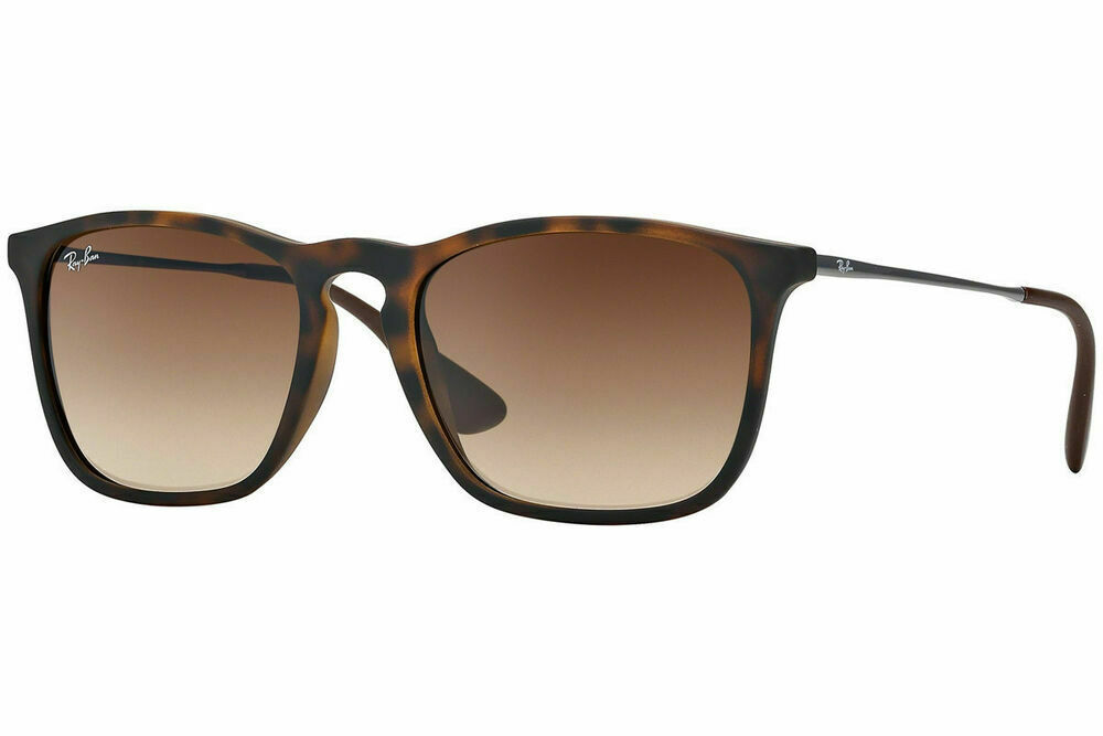 582d3e4a1f Ray-Ban RB4187 856/13 Chris Tortoise Frame Brown Gradient Lens Sunglasses  54mm - £86.60 GBP