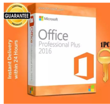 Official Microsoft Office Pro Professional Plus 2016 Win License Key 32/... - $8.08