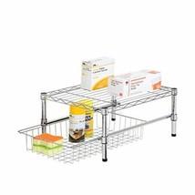 Honey-Can-Do Adjustable Shelf with Under Cabinet Organizer, 11.75 x 17.5... - $546,74 MXN