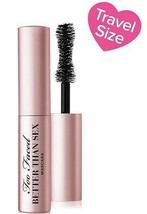 Too Faced New Deluxe Better Than Sex Black Mascara Mini Travel Size 0.17 oz - $13.36