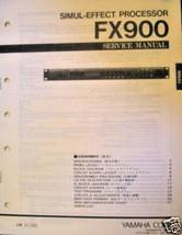 Yamaha FX900 Rack Mount Effects Original Service Manual, Schematics, Par... - $39.59