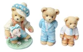 Enesco Cherished Teddies Figurines Tom Tom Piper's Son Father Bearer Str... - $24.97