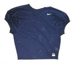 Nike Short Sleeve Core Football Practice Mesh Jersey Men's 2XL Navy 8459... - $17.24
