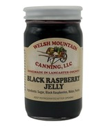 BLACK RASPBERRY JELLY 8 oz Pint 1, 3-6-12 Lot Fresh Fruit Spread Amish H... - $6.90+