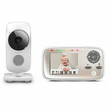 "Motorola MBP667CONNECT Video Baby Monitor with Wi-Fi Viewing, 2.8"" Color... - $119.95"