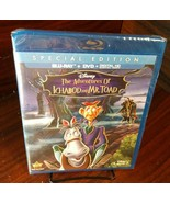 The Adventures of Ichabod and Mr. Toad (Blu-ray+DVD-No Digital) -Discs U... - $9.88