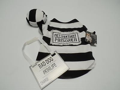 Used, Bootique Prisoner Pet Costume S Small Bad Dog K94LIFE Pet-Itentiary Prisoner New for sale  USA