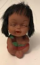 "Vintage Strawberry Happy Vinyl Mood Doll 3 1/2"" - $9.50"
