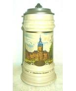Schultheiss Berlin Schloss Charlottenburg lidded 1L Masskrug German Beer Stein - $49.95