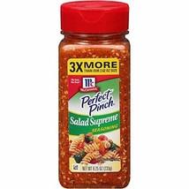 McCormick Perfect Pinch Salad Supreme Seasoning, 8.25 Oz - $8.61
