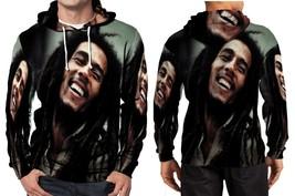 Rasta Happy Smile Hoodie Fullprint Men - $41.80