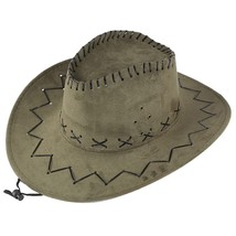 Feitong 2019 hats Unisex Adult West Cowboy Hat Mongolian Hat Grassland S... - $7.78