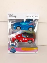 Disney Lilo and Stitch Friction Cars Toys Two Cars with Action & Speed NEW  - $11.30