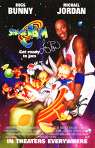 Larry Bird Signed Space Jam 11x17 Movie Poster - $160.00