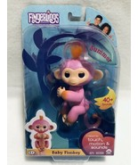 WowWee AUTHENTIC Fingerlings 2Tone Baby Monkey, Summer Pink with Orange ... - $11.11