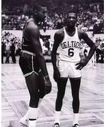 Bill Russell Wilt Chamberlain Celtics 76ers SAS Vintage 5X7 BW Basketba... - $3.95