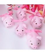 Bowknot Pink Plush Pig Toy Stuffed Lovely Mini Piggy 2019 Chinese Zodiac... - $8.59