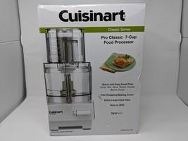 CUISINART DLC-10S PRO CLASSIC 7-CUP FOOD PROCESSOR WHITE BLEND CHOP SLIC... - $74.25