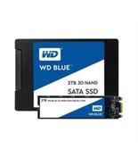 Western Digital SSD WDS500G2B0A 500GB SATA III 6Gb/s 2.5inch 7mm Blue 3D... - $91.37