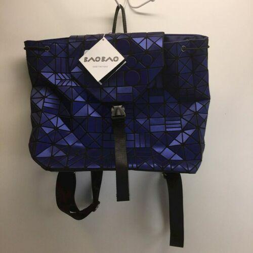 NWT New Blue Prism BAO BAO ISSEY MIYAKE BAG Backpack Messenger