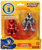 Fisher Price Imaginext Justice League Cyborg & Red Tornado - $82.28