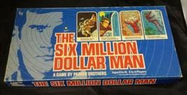 The Six Million Dollar Man Board Game $6 Million Parker Bros 1975 Steve ... - $12.59
