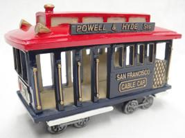 San Francisco Cable Car Replica Model Powell & Hyde St #88 4x6 - $26.13
