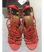 New Lauren Ralph Lauren Coral Strappy wedge 6.5 - $40.10